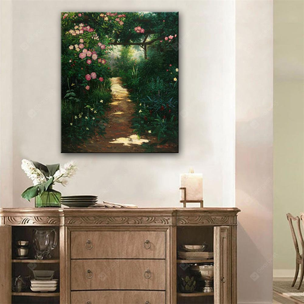 Special Design Frameless Paintings The Garden Path Print