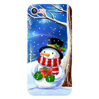Snowman Santa Claus Case for iphone 7 Soft Silicone TPU Cover newsets mercury flash powder tpu protector case for iphone 7 4 7 inch baby blue