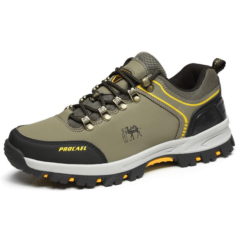 ZEACAVA Men Lace Up Outdoor Scarpe da arrampicata da trekking