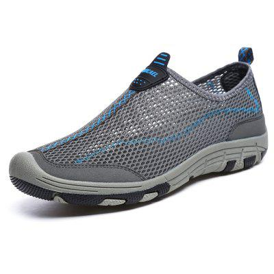 ZEACAVA Men Honeycomb Mesh Quick Drying Upstream Shoes Casual Beach Shoes