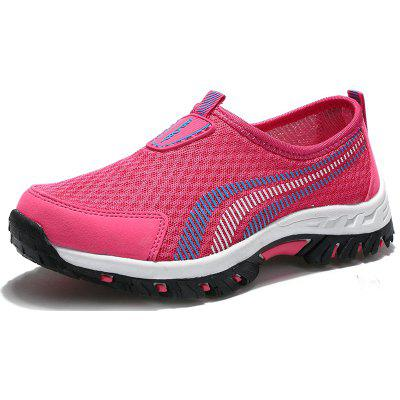 Lady Casual Fashion Mesh Outdoor Breathable Shoes