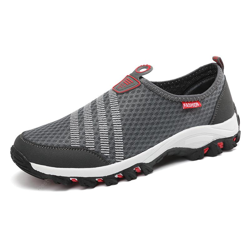 Men Casual Fashion Mesh Breathable Shoes