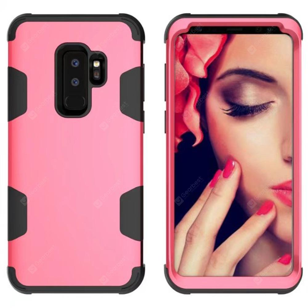 Silicone and PC Case for Samsung Galaxy S9 Plus Shockproof All Covered Shell