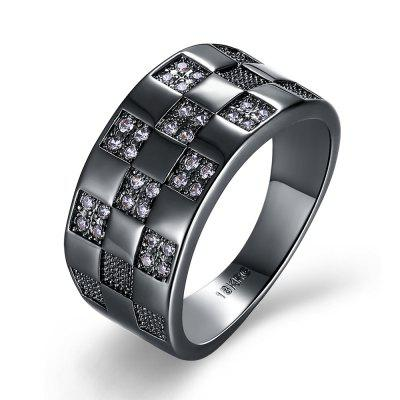 Fashion Elegant Zircon Ring Charm Jewelry Gift for Men