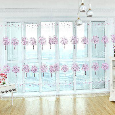 Home Fashion Multicolor Tree Offset Screens