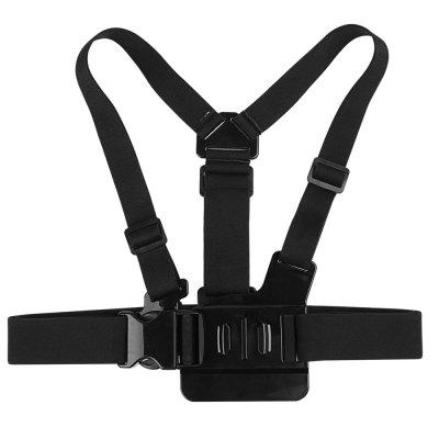 Adjustable Camera Chest Strap Mount for GoPro Hero 6 / 5 / 4 / 3 / Xiaomi Yi 4k