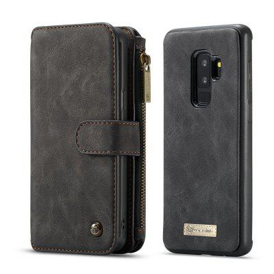 CaseMe for Samsung Galaxy S9 Plus Protective Leather Phone 2 in 1 Wallet Case