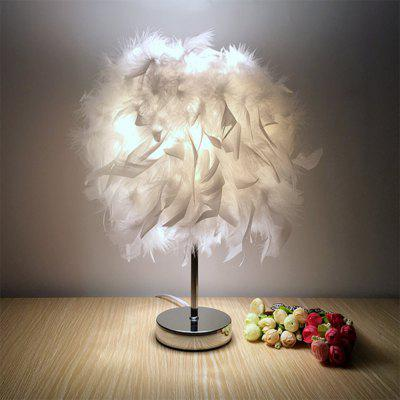 Modern Creative Feather Table Lamp (Gearbest) Fort Collins Used search