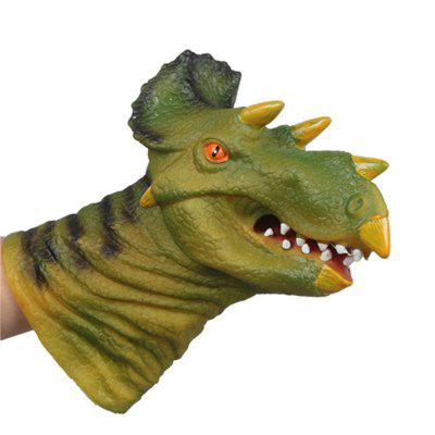 Funny Triceratops Model Hand Puppet Toy