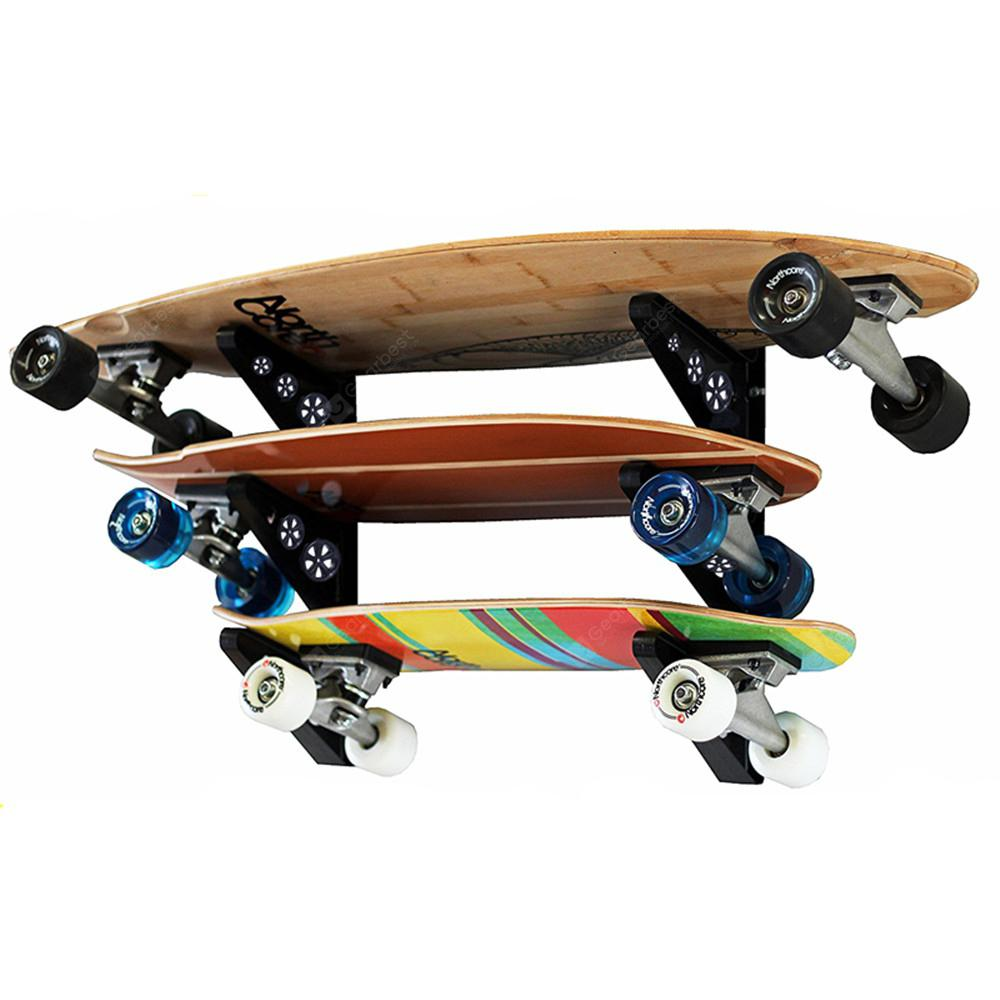 Electric Skateboard Parts Wall Mounted Rack For Hanging Longboard Snowboard    $8.68 Free Shipping|GearBest.com