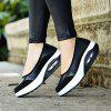 Slip-Ons Simple Style Thick Sole Casual Comfy Shoes - BLACK