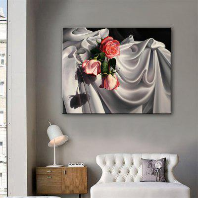 Special Design Frameless Paintings The Roses Print