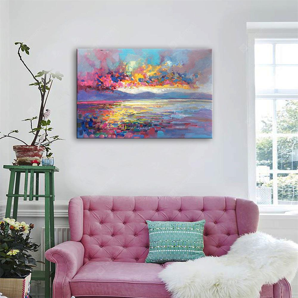 Special Design Frameless Paintings Color of The Sea Print