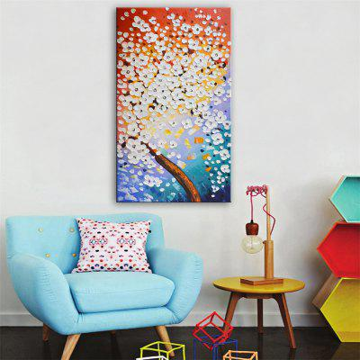 Special Design Frameless Paintings Gone with The Wind Flowers Print