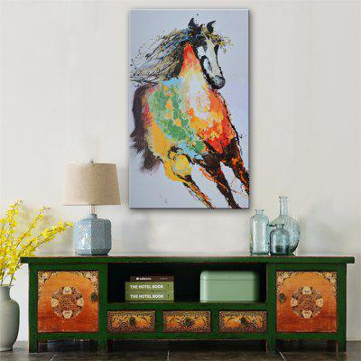 Special Design Frameless Paintings Horse Print