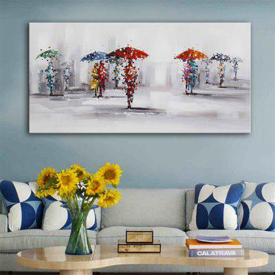 Special Design Frameless Paintings Rainy Day Print