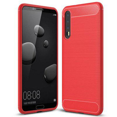 pre puzdro Huawei P20 Plus Brushed Slim soft Silicone Smartphone Shell Covers