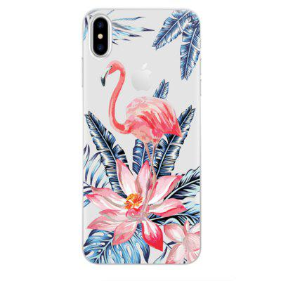 Perfect Fitted Beautiful Red-Crowned Crane TPU Case for iphone X