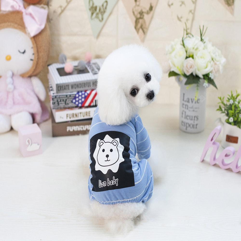Lovoyager VB1803 Spring and Summer 2018 New Simple Fashion Lions Home Clothes