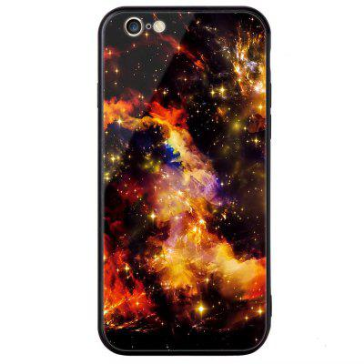 Universal for iPhone 6/6S Tempered Glass Starry Painted Mobile Phone Shell