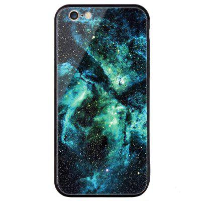 Фото Universal for iPhone 6/6S Tempered Glass Starry Painted Mobile Phone Shell gumai silky case for iphone 6 6s black