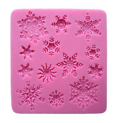 New Snowflake Silicone Cake Chocolate Mould Baking Tools