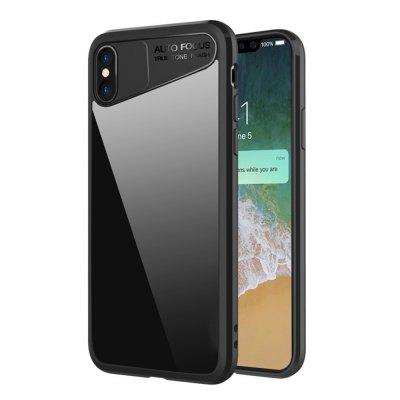 Original Soft Silicone Edge Edition Black for iPhone X Cover Case