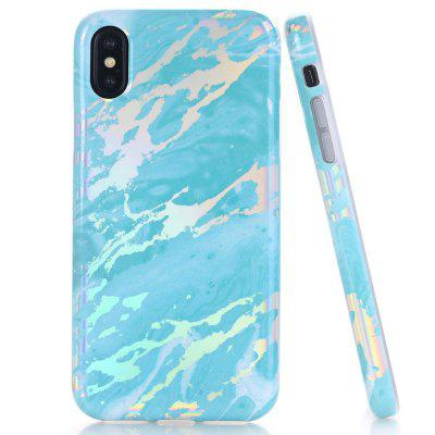 Creative Design Flexible Soft Marble Pattern TPU Case for iPhone X marble pattern iphone case