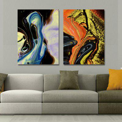 MY43-CX - 7-203 Fashion Abstract Print Art Ready to Hang Paintings 2PCS