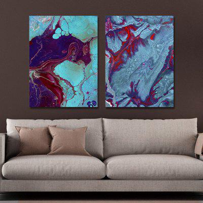 MY43-CX - 9-105 Fashion Abstract Print Art Ready to Hang Paintings 2PCS