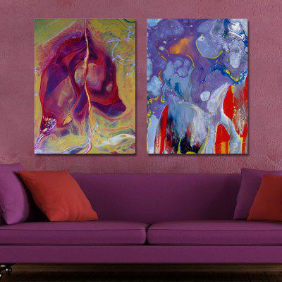 MY43-CX - 10-160 Fashion Abstract Print Art Ready to Hang Paintings 2PCS