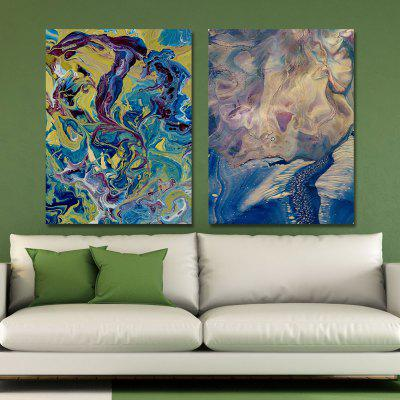MY43-CX - 30-102 Fashion Abstract Print Art Ready to Hang Paintings 2PCS