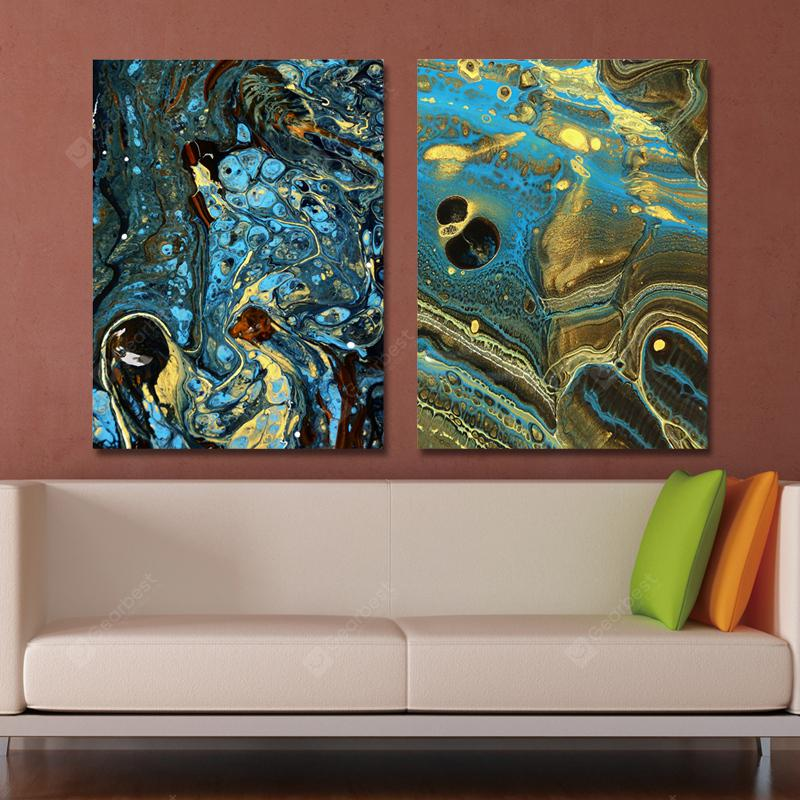 MY43-CX - 32-163 Fashion Abstract Print Art Ready to Hang Paintings 2PCS
