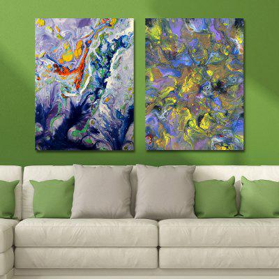 MY43-CX - 40-248 Fashion Abstract Print Art Ready to Hang Paintings 2PCS