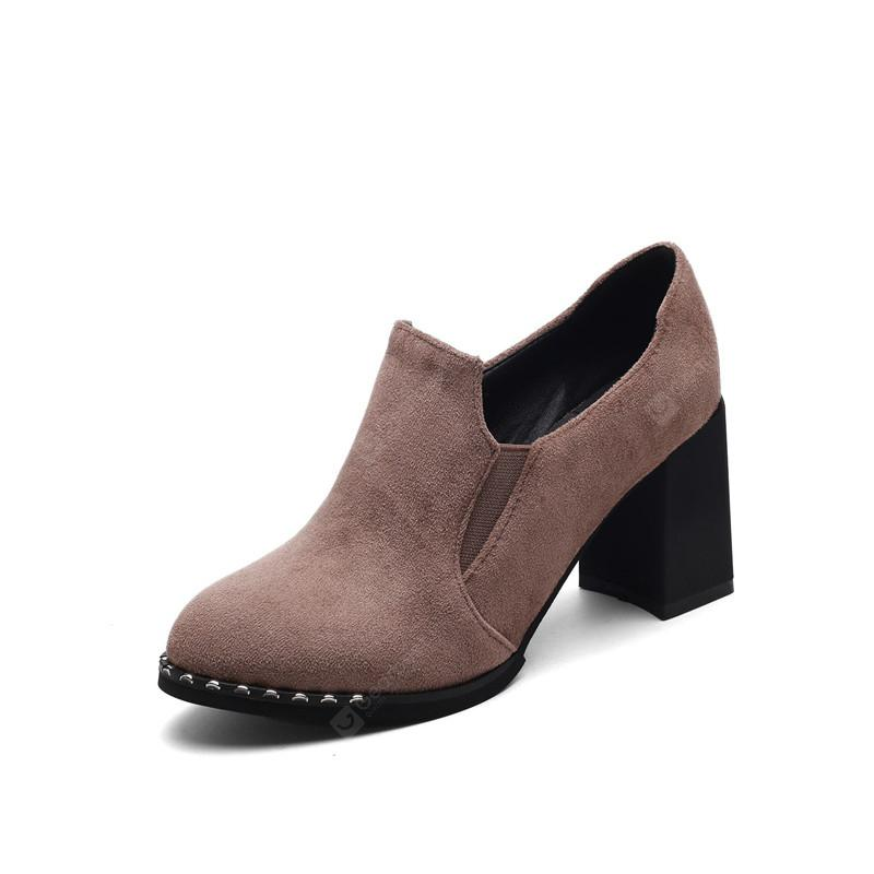 Slack and High Heeled Leisure Professional Women Shoes