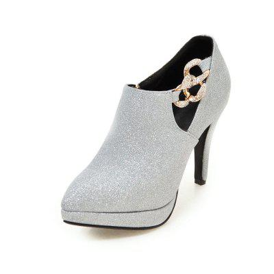 Sexy Sanding High Heeled Women Shoes