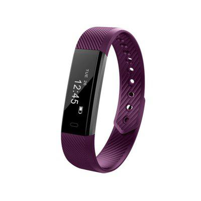 ID115 Smart Fitness Tracker Heart Rate Monitoring Bracelet for iPhone Android
