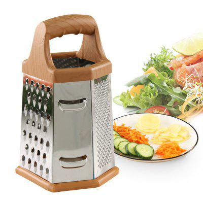 Vegetable  Six-sided Grater Multi Functional Useful Kitchen Tool