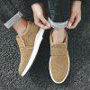 Men's Canvas Casual Shoes Sneakers - YELLOW
