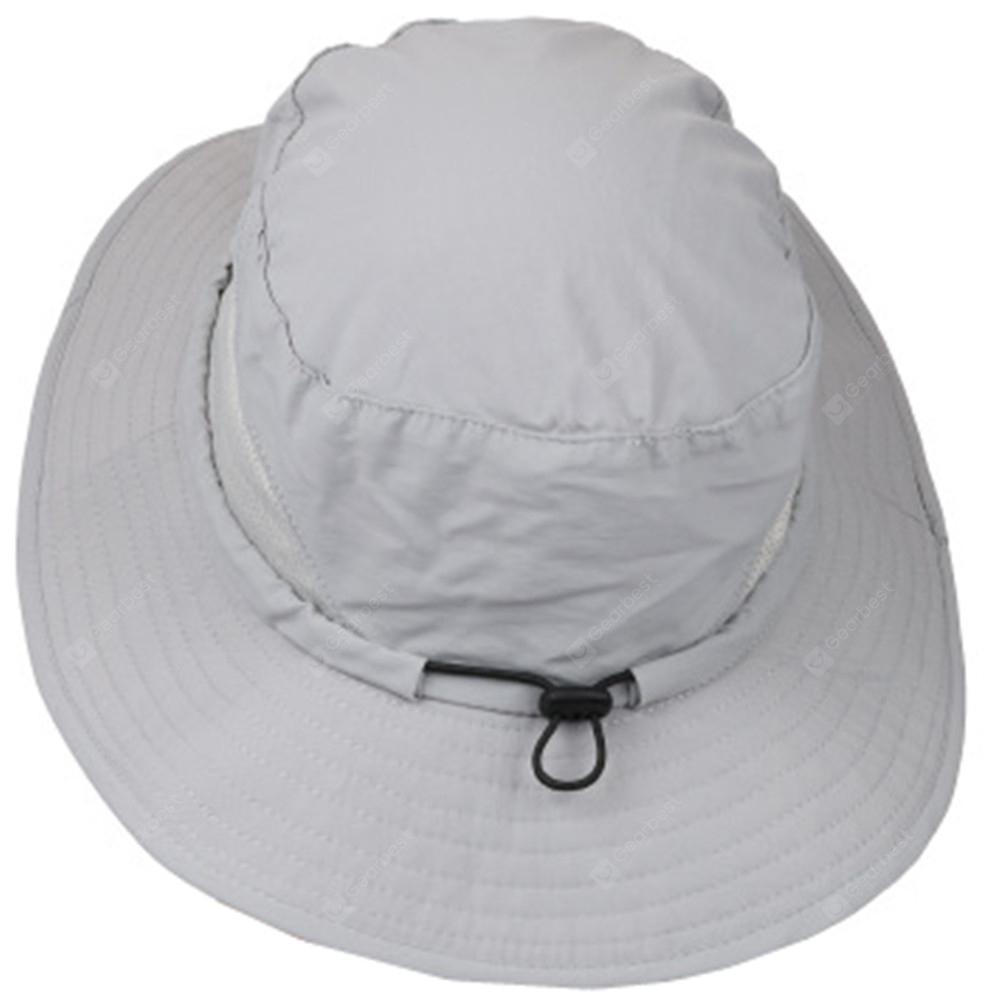 a28a31cab75c3 Outdoor Sun Hat Protection for Men Women Wide Brim Summer ...