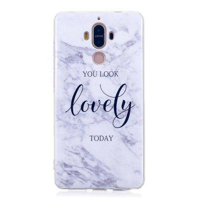 Ultra Thin Lovely Characters Fashion Marble Soft TPU Case for Huawei Mate 9