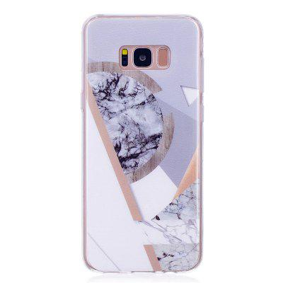 Ultra Thin Mosaic Fashion Marble Soft TPU Phone Case for Samsung Galaxy S8 Plus