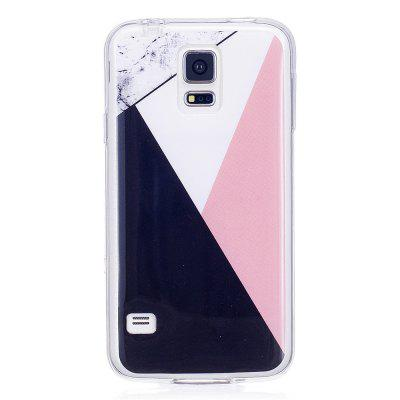 Mixed Color Fashion Marble Soft TPU Phone Case for Samsung Galaxy S5 Mini