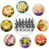 52pcs Icing Piping Nozzle Cake Decorating Sugarcraft Pastry Tips Tool - SILVER