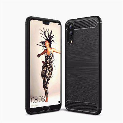 Para Huawei P20 Brushed Finish Soft Phone Case