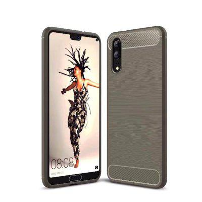 Für Huawei P20 gebürstetem Finish Soft Phone Case