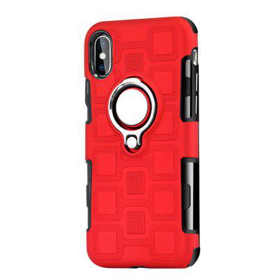 Cover Case for iPhone X Ring Dual Heavy Duty PC TPU Resistent casio ga 100l 8a