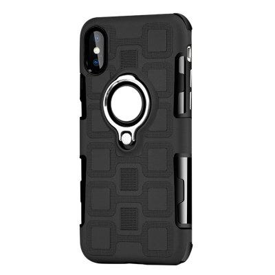 Cover Case for iPhone X Ring Dual Heavy Duty PC TPU Resistent for lenovo tab 3 tab3 7 0 tb3 730f 730f 730m 730x case pc tpu shockproof heavy duty rubber hybrid tablet protective cover