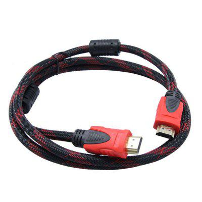 Cable HDMI 1.4V 1.5M Alta velocidad Gold 1080p 3D Video HDTV