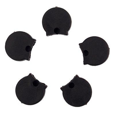 Rubber Clarinet Thumb Rest Cushion Protector Comfortable 5PCS